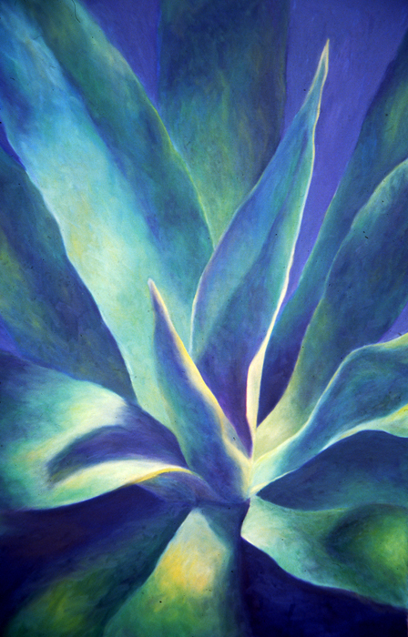 Agave Light 2 oil painting