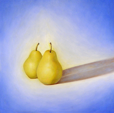 Pears in Light and Shadow I