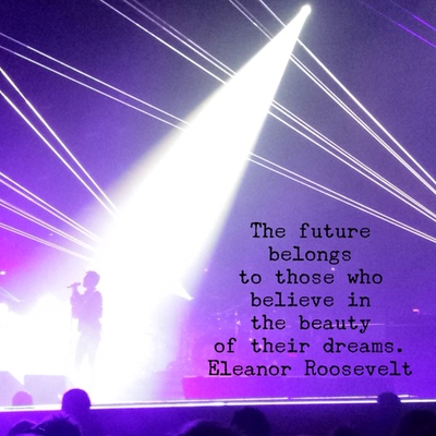 Queen + Adam Lambert with Quote